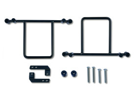Burly Saddlebag Bracket Kit. Dyna 1999up