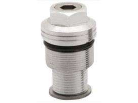 Preload Adjuster - Silver. Fits 39mm Forks.