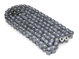 Rear X-Ring Chain with 120 Link - Black & Chrome.