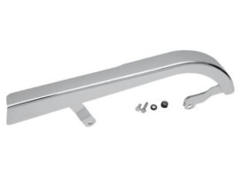 Upper Belt Guard - Chrome. Fits Dyna 2000-2005.