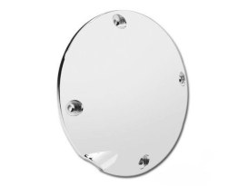 4 Hole Derby Cover with Chrome Finish. Fits Sportster 1994-2003.