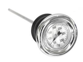 Oil Temperature long Style Dipstick. Fits FX & FL 1970-1985 & FXR 1982-1983 &FLT 1980-1986 & Sportster 1970-1978.