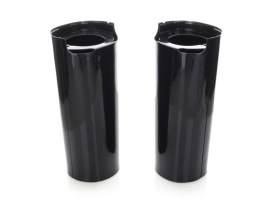 +2in. Extended Slider Covers - Black. Fits Touring 2014up.