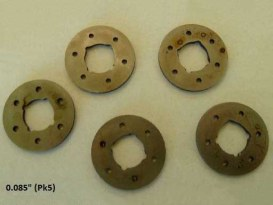 0.085in. Countershaft Gear End Thrust Washer. Fits Big Twin 1936-1986 with 4 Speed Transmission.