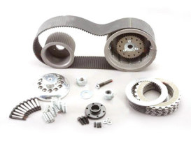 3in. Open Primary Belt Drive Kit. Fits Big Twin 1955-1984.
