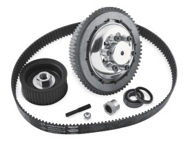 Closed Belt Drive Kit - 1-5/8in.. Fits Softail 1990-06 & Dyna 1991-2005.