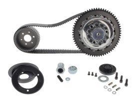Closed Belt Drive Kit - 1-1/2in.. Fits 4Spd Big Twin 1970-1983 with Chain Final Drive, Includes Competitor Clutch.