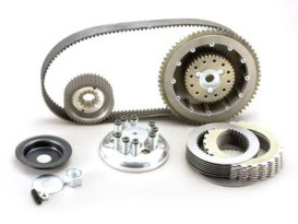 Closed Belt Drive Kit - 1-1/2in.. Fits 4Spd Big Twin 1979-1983 with Belt Final Drive, Includes Competitor Clutch.