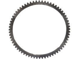 66 Tooth Starter Ring Gear. Fits 47T, 61T & 62T Clutch Baskets.