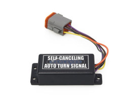 Plug-n-Play Self Cancelling Turn Signal Module with Deutsch 8 Pin Female Plug.