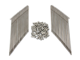19in. Spokes - Stainless Steel. Fits Original Style H-D Deep Drop Center Rim when used in conjunction with 1997up H-D Style Wide Glide Front Hub.