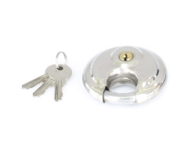 Round Pad Lock - Stainless Steel.
