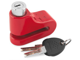 5.5mm Disc Lock - Red.