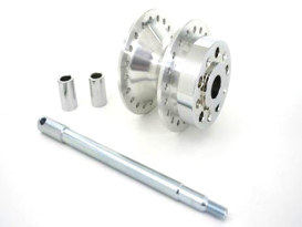 Wheel Conversion Kit. Fits Narrow Glide 1977-1983 Wheel to Wide Glide 41mm  Front End.