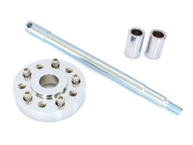 Wheel Conversion Kit. Fits Narrow Glide 20004-2003 Wheel to Wide Glide 41mm 2000up Front End.