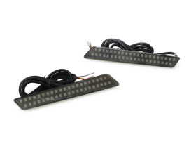 Saddlebag LED Latch Lights - Amber/Red. Fits Touring 2014up.