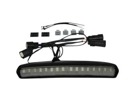 LED High Mount Tour Pak Light - Black Housing, Smoke Lens. Fits Touring 2014up.