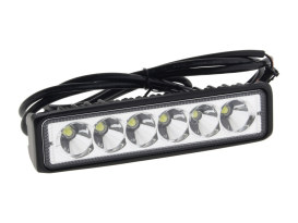 LED Driving Light Bar White - Black.