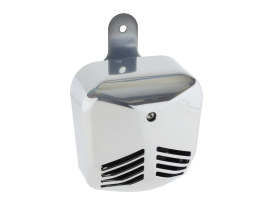Probeast Dual Tone Air Horn - Chrome. Fits Big Twin 1992-2017 & Sportster 1992up with Stock Cowbell Horn.