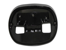 Taillight Base Plate for HD Taillight - Black.
