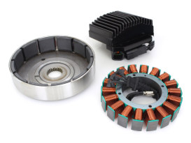 50 Amp 3 Phase Alternator Kit with Screaming Eagle Rotor. Fits Dyna 2006-2007.