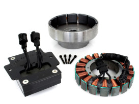 50 Amp 3 Phase Alternator Kit. Fits Softail 2008-2011.