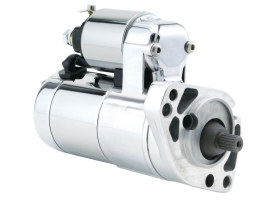 2.0kw Gen3 Starter Motor - Chrome. Fits Big Twin 1989-2006.