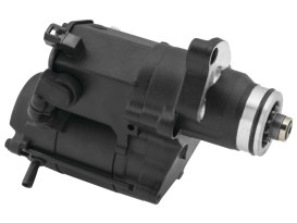1.6kw Starter Motor - Black. Fits Softail 2007-2017, Dyna 2006-2017 & Touring 2007-2016.