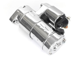 2.0kw Gen3 Starter Motor - Chrome. Fits Fuel Injected Twin Cam 1999-2006.