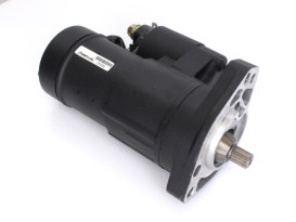 2.0kw Gen3 Starter Motor - Black. Fits all Fuel Injected Twin Cam 1999-2006 excluding 2006 Dyna.