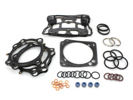Top End Gasket Kit with 0.030in. Multi-Layer Steel (MLS) Head Gaskets. Fits S&S 124in. Twin Cam Motor with 4.125in. Bore.