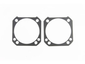 0.020in. Thick Cylinder Base Gaskets. Fits Twin Cam with 4-1/8in. Cylinders on OEM HD Cases.