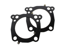 Head & Base Gasket Set. 0.040in. MLS Head Gasket, 0.014in. Base. Fits Milwaukee-Eight 2017up with OEM 107 to 124 or OEM 114 to 128 & 4.250in. Big Bore Kit.