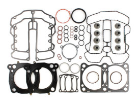 Top End Gasket Kit with 0.030in. Multi-Layer Steel MLS Head Gaskets. Fits Milwaukee-Eight 2017up with 107 Engine & 3.937in. Bore.