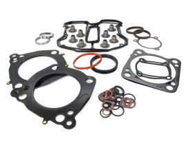 Top End Gasket Kit with 0.040in. Multi-Layer Steel MLS Head Gaskets. Fits Milwaukee-Eight 2017up with 107 Engine & 3.937in. Bore.