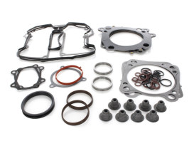 Top End Gasket Kit with 0.030in. Multi-Layer Steel MLS Head Gaskets. Fits Milwaukee-Eight 2017up with 114 Engine & 4.000in. Bore.