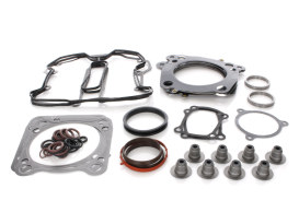 Top End Gasket Kit with 0.040in. Multi-Layer Steel MLS Head Gaskets. Fits Milwaukee-Eight 2017up with 114 Engine & 4.016in. Bore.