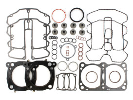 Top End Gasket Kit with 0.030in. Multi-Layer Steel MLS Head Gaskets. Fits Milwaukee-Eight 2017up with 107 to 114 or 114 to 117 & 4.075in. Big Bore Kit.