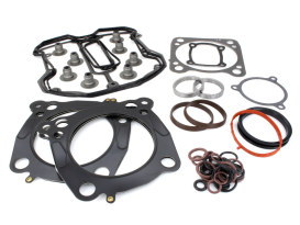 Top End Gasket Kit with 0.040in. Multi-Layer Steel MLS Head Gaskets. Fits Milwaukee-Eight 2017up with 107 to 114 or 114 to 117 & 4.075in. Big Bore Kit.