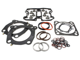 Top End Gasket Kit with 0.040in. Multi-Layer Steel MLS Head Gaskets. Fits Milwaukee-Eight 2017up with 117 Engine & 4.125in. Bore.