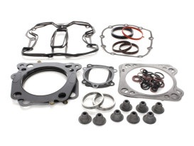 Top End Gasket Kit with 0.030in. Multi-Layer Steel MLS Head Gaskets. Fits Milwaukee-Eight 2017up with 120 Engine & 4.185in. Bore.