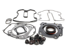 Top End Gasket Kit with 0.040in. Multi-Layer Steel MLS Head Gaskets. Fits Milwaukee-Eight 2017up with 120 Engine & 4.185in. Bore.