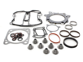 Top End Gasket Kit with 0.030in. Multi-Layer Steel MLS Head Gaskets. Fits Milwaukee-Eight 2017up with 107 to 124 or 114 to 128 4.250in. Big Bore Kit.