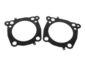 0.040in. Thick Cylinder Head Gasket. Fits Milwaukee-Eight 2017up with OEM 107 to 124 or OEM 114 to 128 & 4.250in. Big Bore Kit.