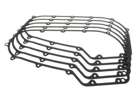 Primary Cover Foamette Gasket. Fits Softail 2007-2017 & Dyna 2006-2017 Models. (Pack of 5)