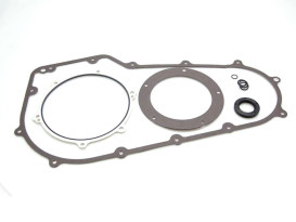Primary Cover Gasket Kit. Fits Softail 2007-2017 & Dyna 2006-2017.
