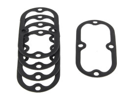 Inspection Cover Gasket. Fits Softail 1984-2006 & Dyna 1991-2005 & 4Speed Big Twins 1965-1984.