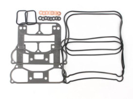 Gasket Kit; Rocker Sportster'86-90w/Metal Rocker Base Gasket (Kit)
