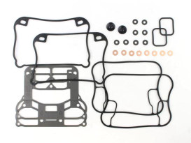 Gasket Kit; Rocker Sportster'91-03w/Metal Rocker Base Gaskets (Kit)