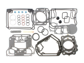 Top End Gasket Kit with 0.030in. MLS Head Gaskets. Fits Evolution Big Twin 1992-1999.